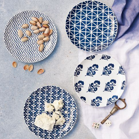 Moroccan Canape Plates from West Elm