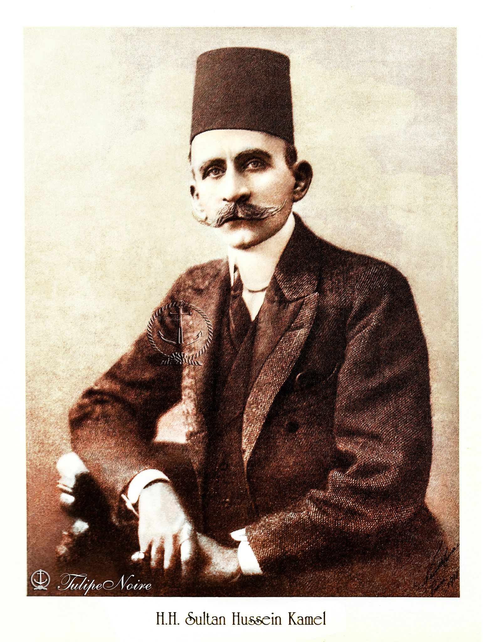 H.H. Sultan Hussein Kamel of Egypt - Cairo In 1910's | Egypt ...