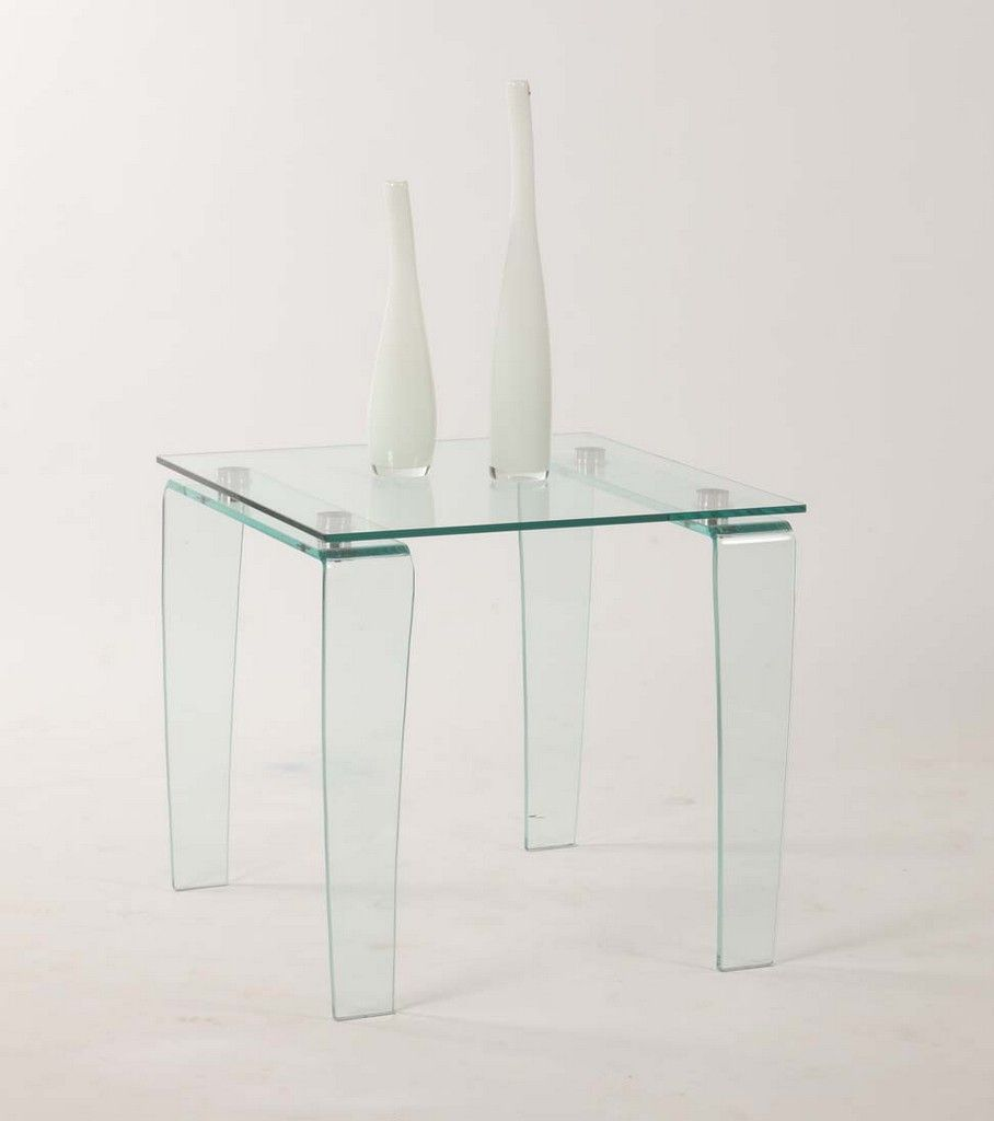 Modern All Glass Square Lamp Table Chintaly Vera Lt In 2021 Clear Glass Lamps Chintaly Glass Top End Tables [ 1024 x 908 Pixel ]