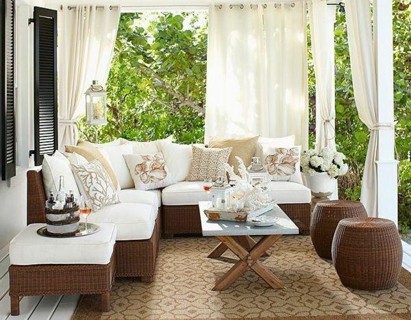 Wintergarten Möbel rattanmöbel im innenbereich welche sind die vorteile der