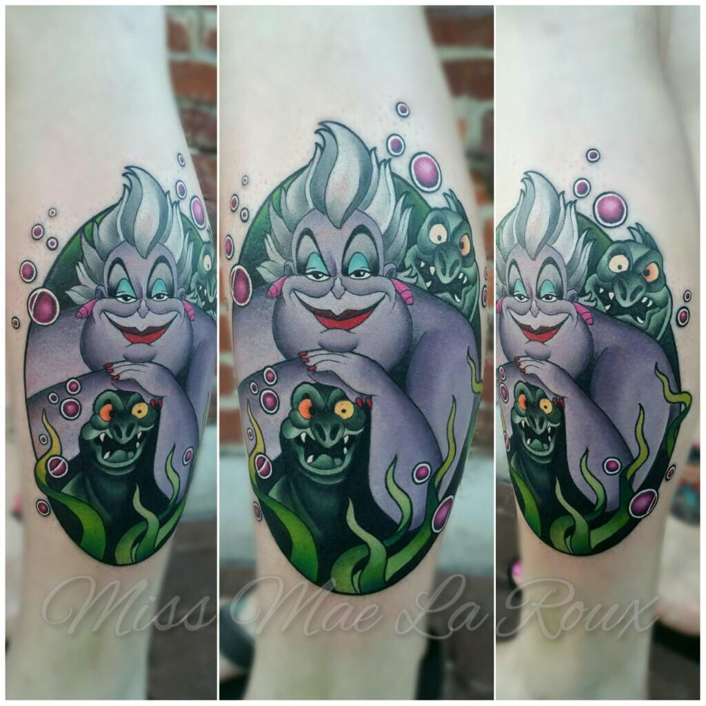 Miss Mae is the most talented #disneytattooartist ever! Check her out on Instagram and Facebook Miss Mae La Roux