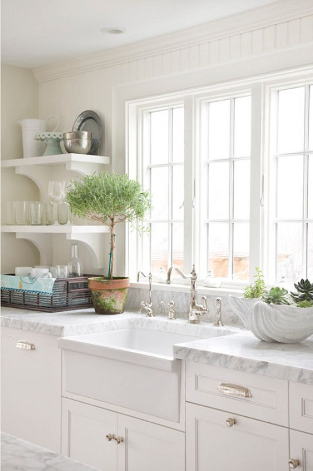 Kitchen Sink and Faucet. Classic apron sink from Whitehaus ...