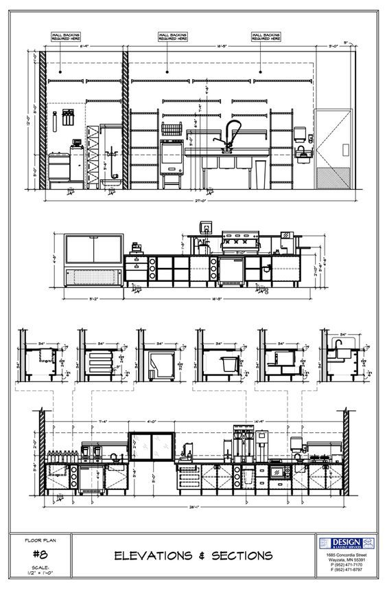 Design Layout Elevations Sections