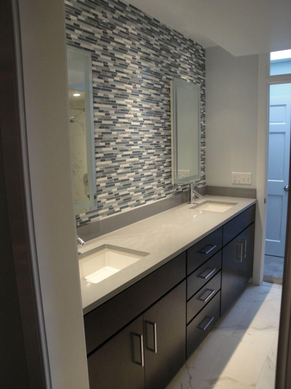 Private Residence Bathroom - Alexandria, VA Project | Architectural Ceramics