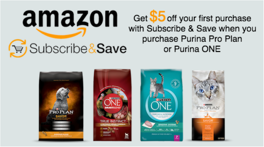 Purina Subscribe Save Offer On Amazon Purina Pro Plan Purina