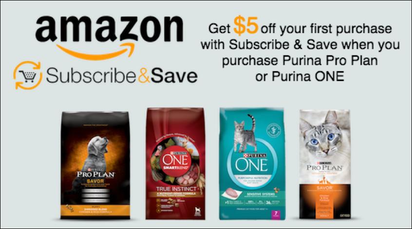 Purina Subscribe Save Offer On Amazon Purina Pro Plan Purina