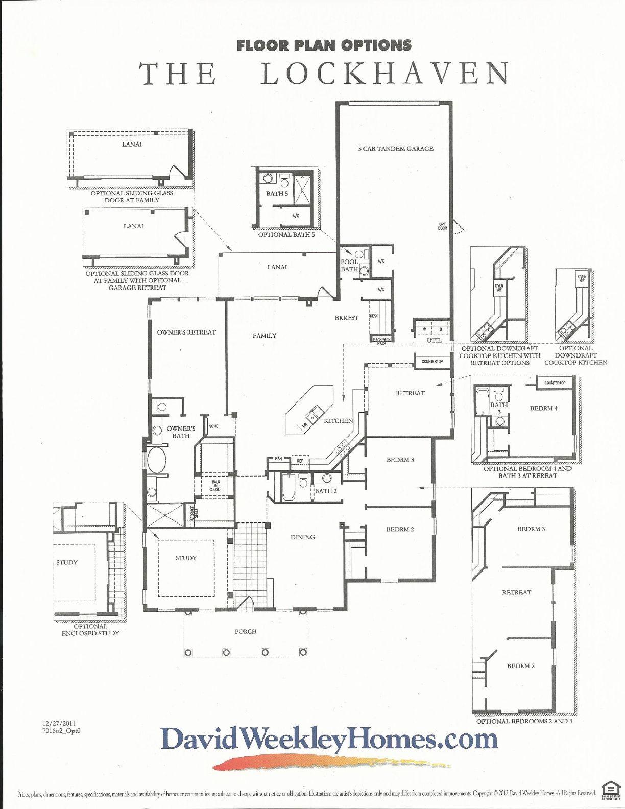 oakland park lockhaven floor plan 2 in winter garden fl oakland