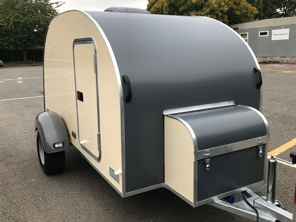 Teardrop Caravan Trailer Sleeping Pod Camping NEW IVA TESTED
