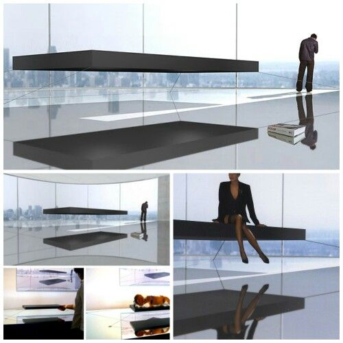 Magnetic Floating Bed, $1.6 million | Things | Pinterest