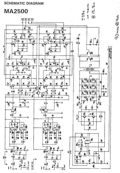 [DIAGRAM] Circuit Diagram 3000w Audio Amplifier