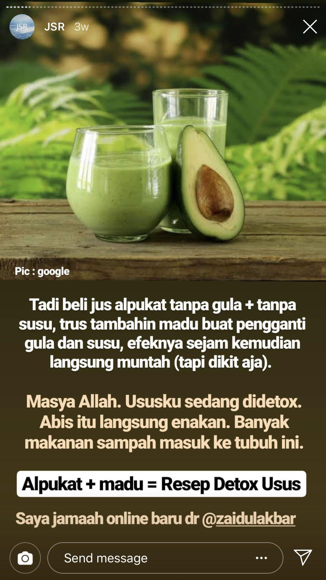 Pin Oleh Abang Faiq Di Resep Jsr Diet Detoks Makanan Sehat Nutrisi