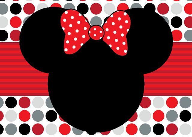 Mickey Mouse Cards Free Printable Mickey Mouse Birthday Cards Convite Minnie Vermelha Minnie Vermelha Convite Aniversario Minnie