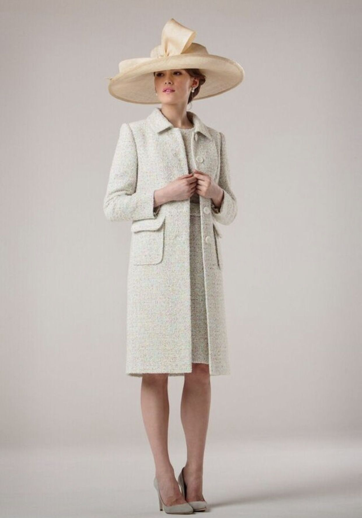 f86e6b17ad9 Summer tweed Stewart Parvin coat