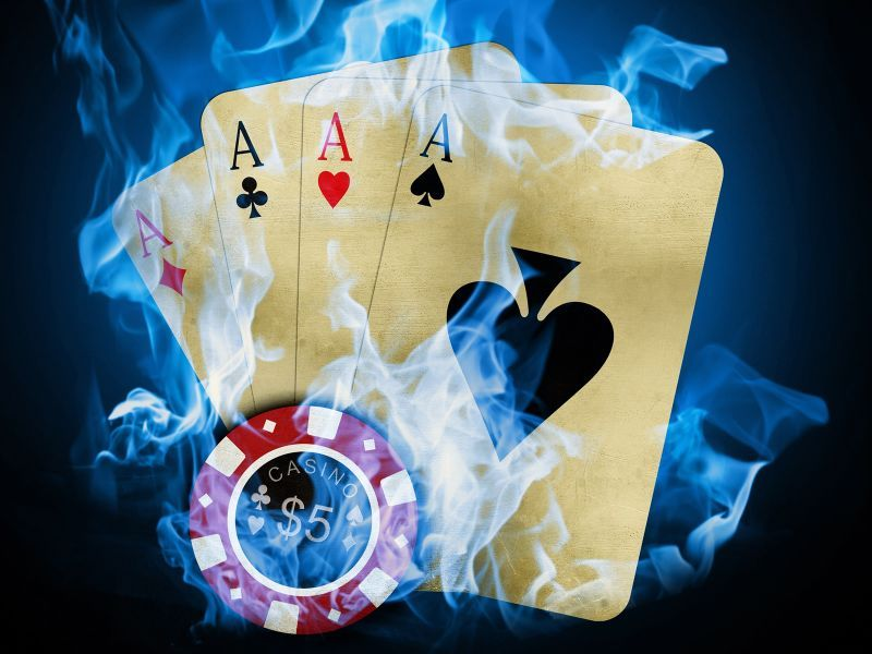 Fondos De Pantalla Digital Cartas De Poker Imagenes Pinterest