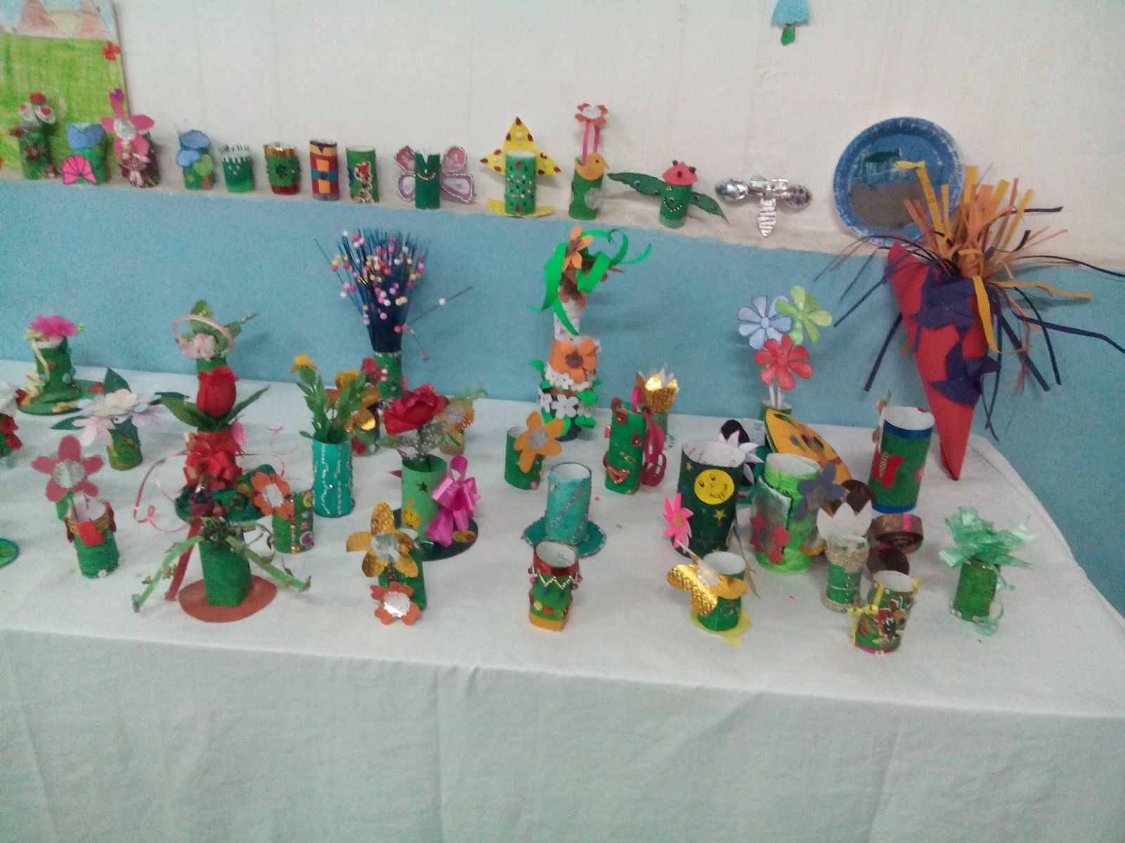 Art And Craft Exhibition Ideas Backdrop Ideas And Class Room