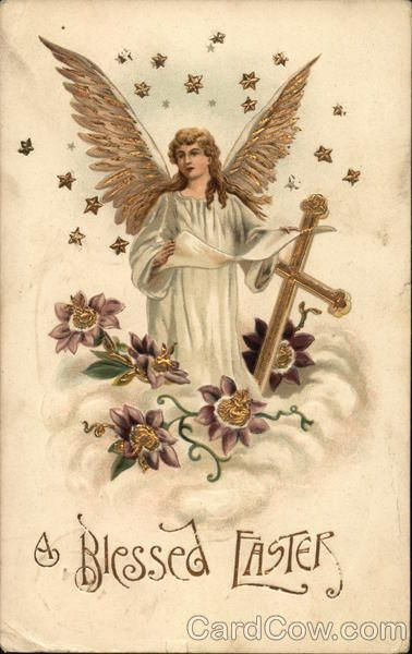 A Blessed Easter With Angels