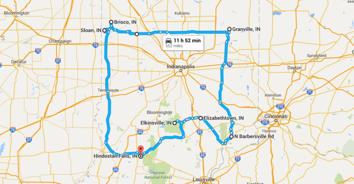 Road Trip Through Indiana Ghost Towns