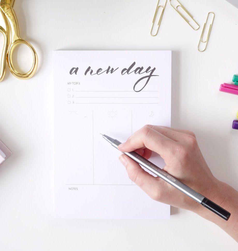 Daily Designer Notepad