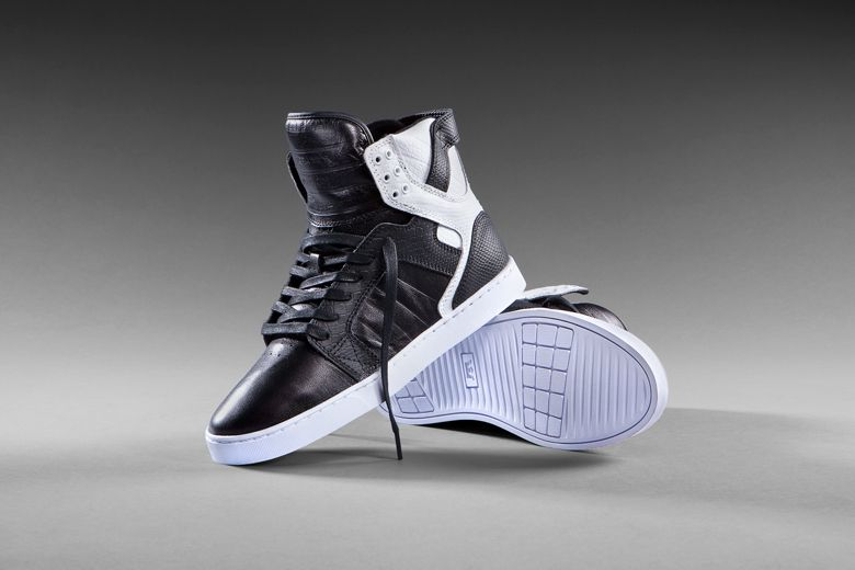0981f9c6d7d Supra Skytop LX – Black and White - http   athlitika-papoutsia.gr ...