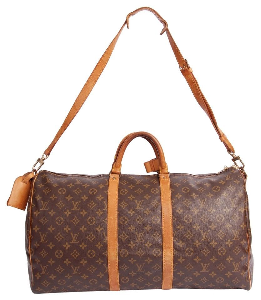 Louis Vuitton Keepall 55 With Strap (Authentic Pre-Owned)
