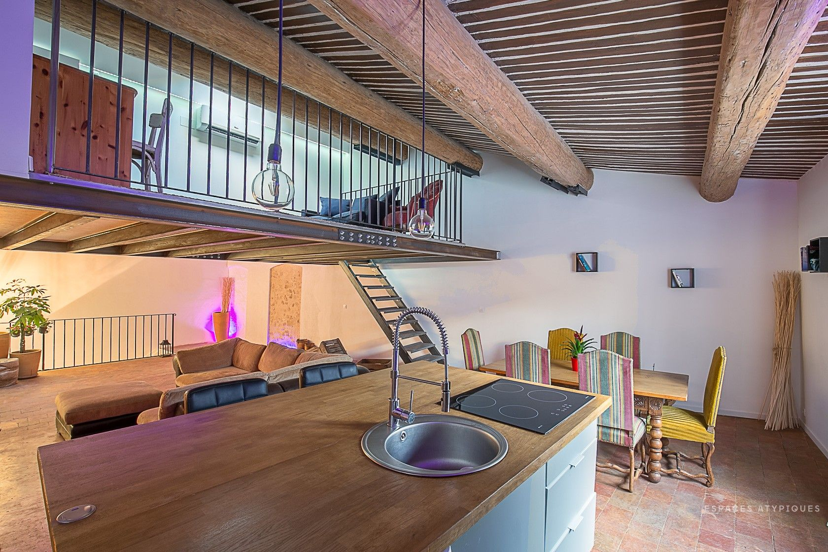 Espace Atypique Aix En Provence aix-en-provence : loft dans un ancien hôpital - agence ea