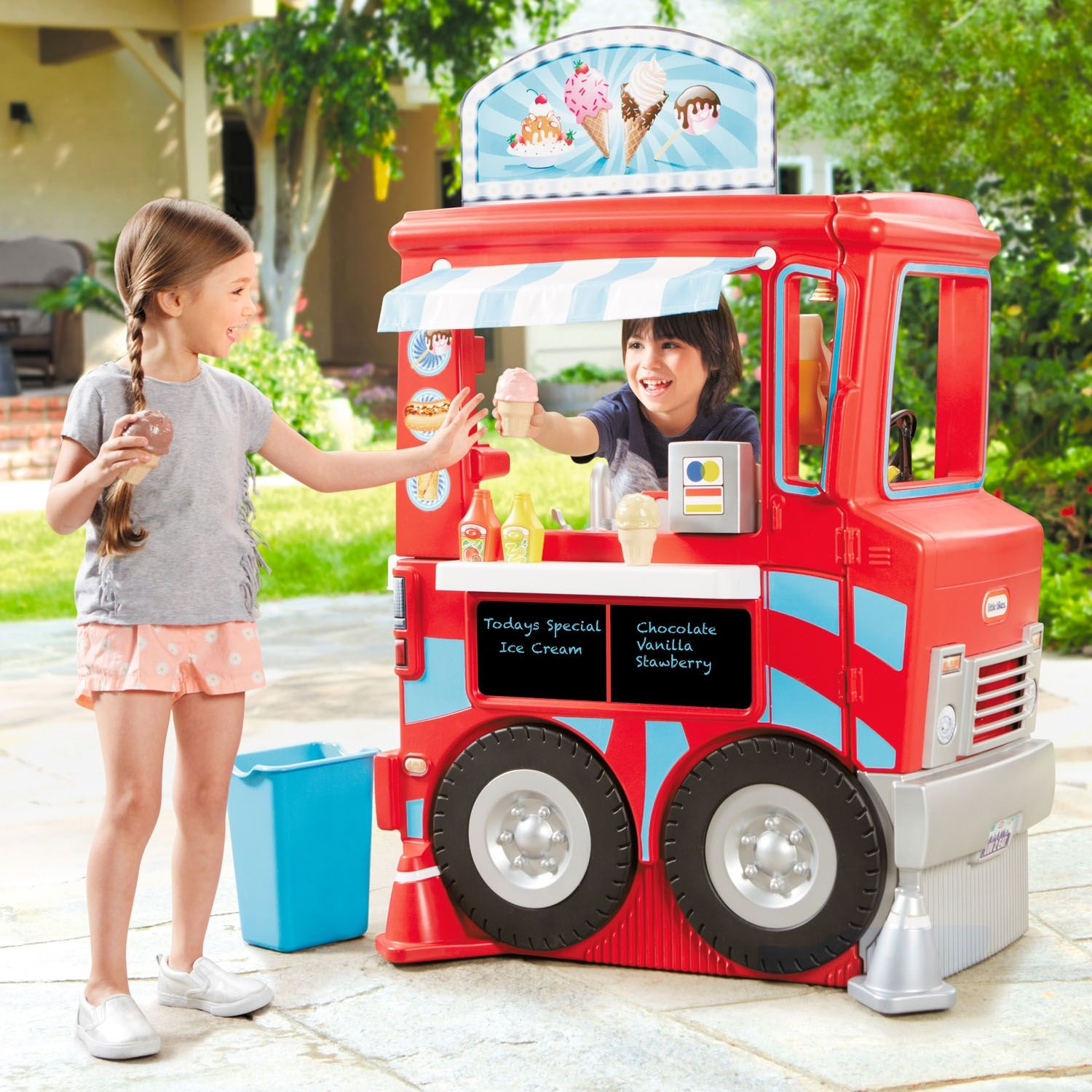 2in1 Food Truck Deluxe Food truck, Little tikes, Food
