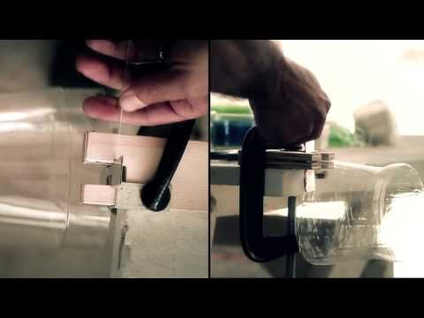 Pet botles cutter - YouTube