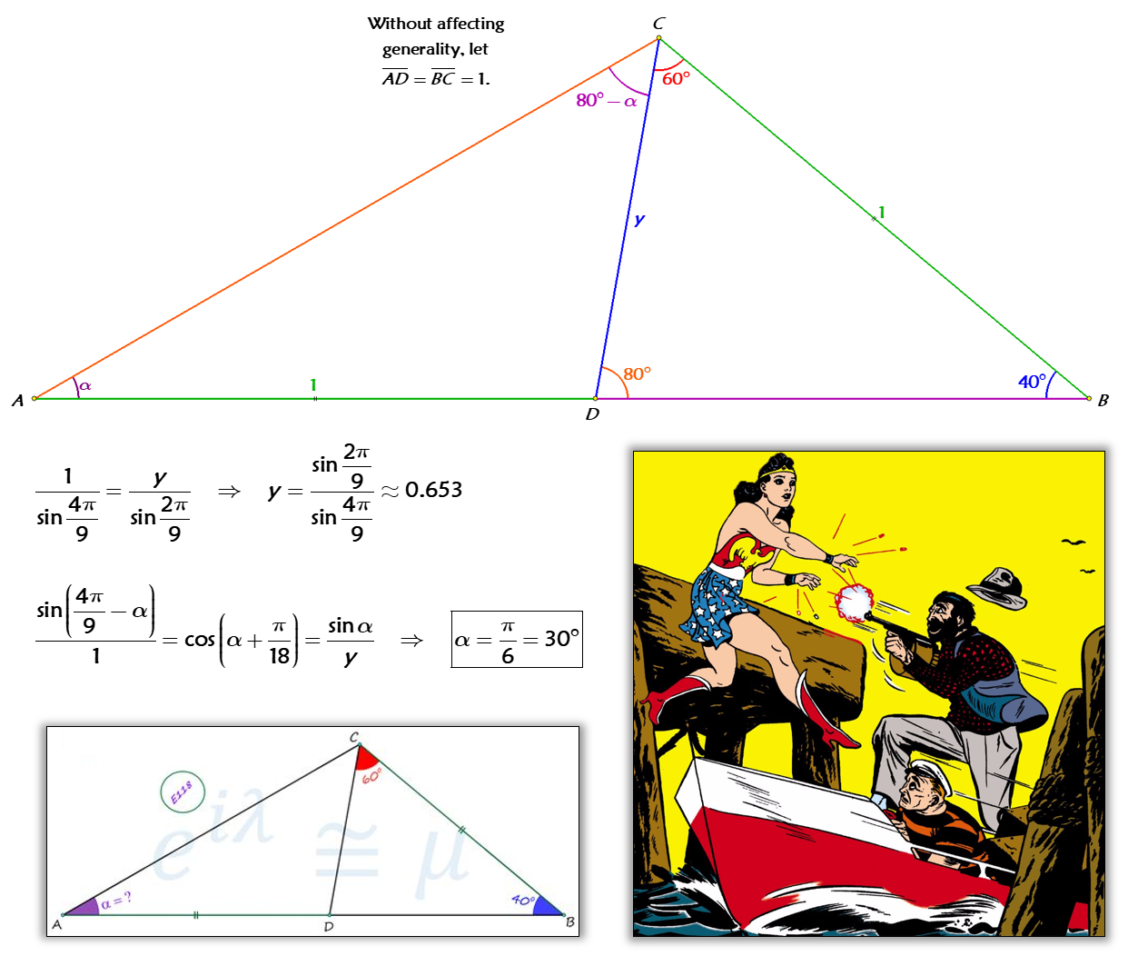 Solved By Law Of Sines Amp Algebra With Images