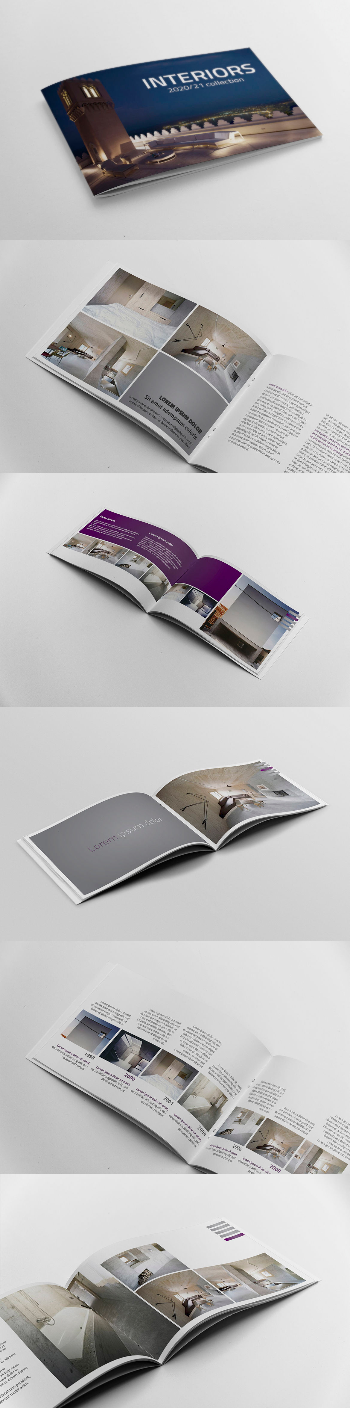 Booklet Catalogue Template AI, EPS, INDD, PSD | Catalog Templates ...