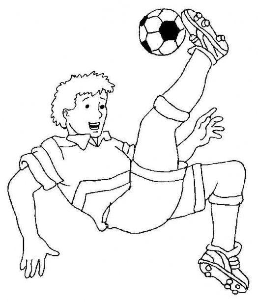 Dibujos de Fútbol para colorear. Imagenes de Fútbol. | .dt6 ...