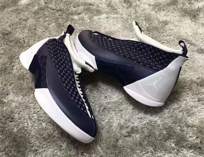 buy popular 161d4 0c1be ... greece new images of the air jordan 15 obsidian for 2017 61507 30b1d