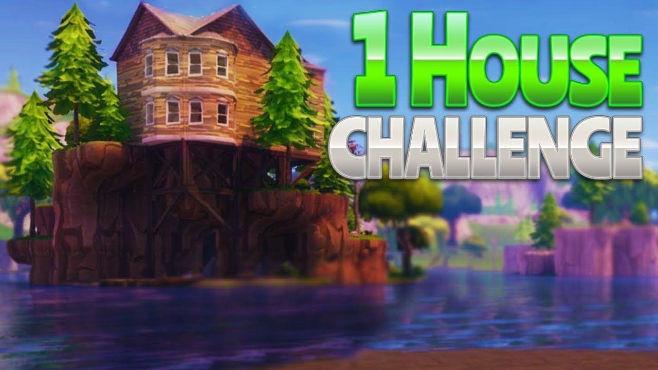 1 House Challenge Fortnite Battle Royale Tips Battle Challenges