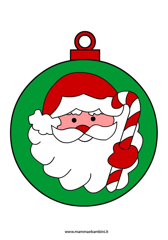 Immagini Di Natale Per Bambini Colorate.Palle Di Natale Colorate Disegni Di Palline Di Natale Da