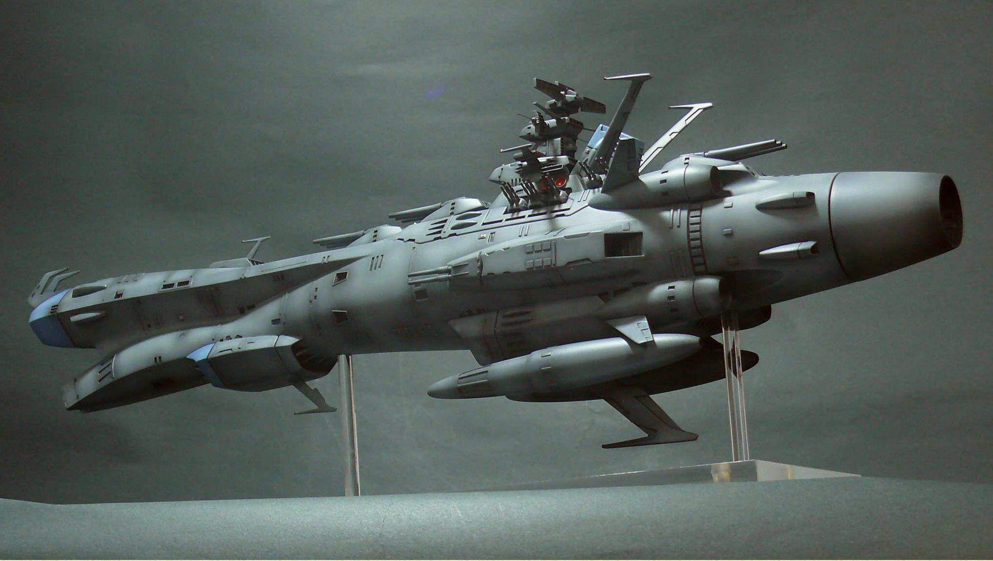 Licensed Space Battleship Yamato 2199 (movie & TV) Page