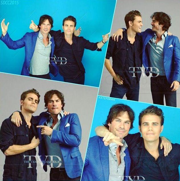 Ian and Paul at Comic Con