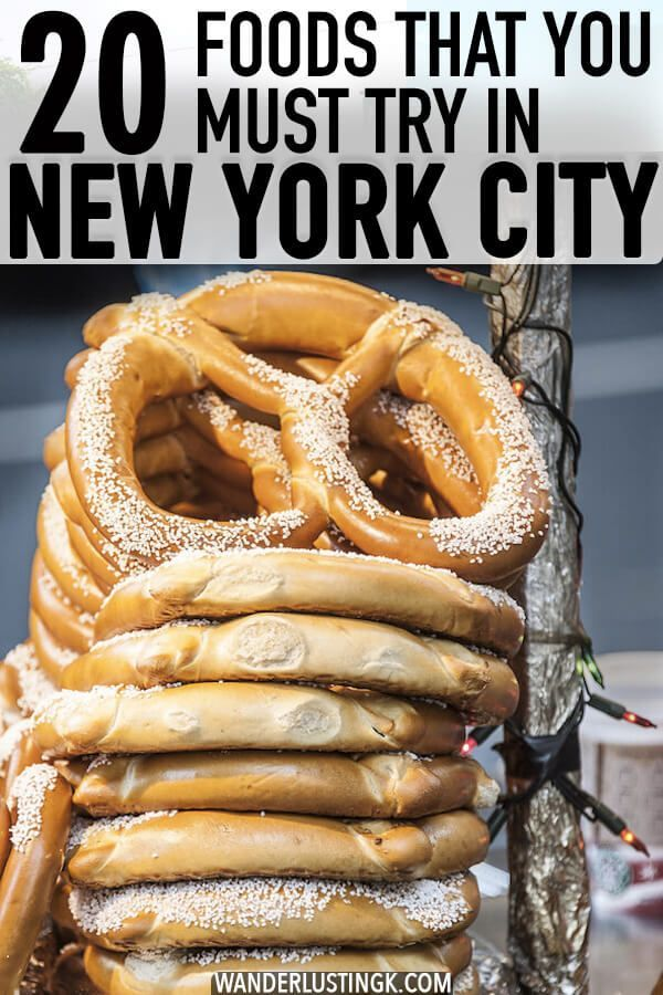 Photo of 20 foods that you must try in New York City by a native New Yorker