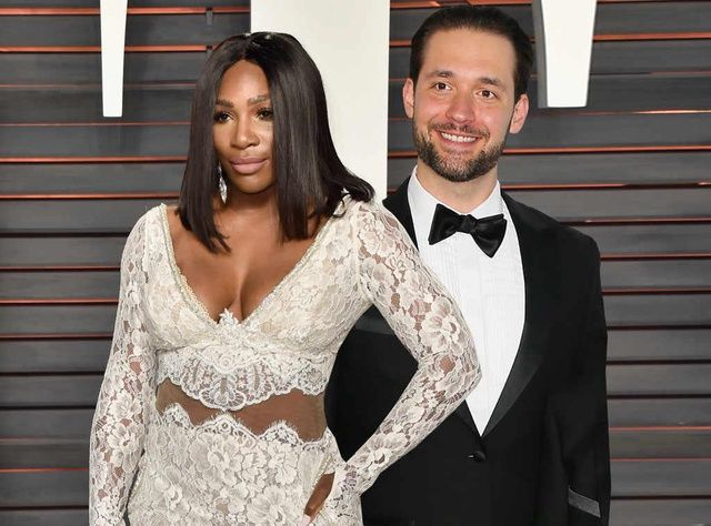 Serena Williams Marries Alexis Ohanian Hochzeitskleider Spitze Hochzeit Serena Williams