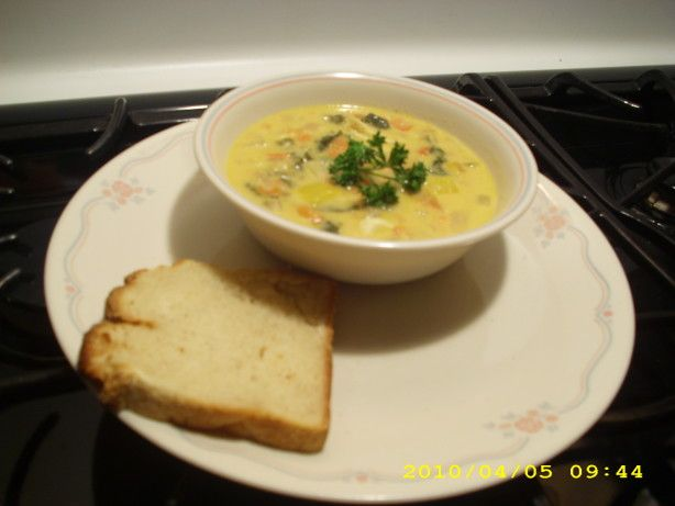 This is a zippy - not overly fishy tasting simple change in your diet stew.  Very easy to make.