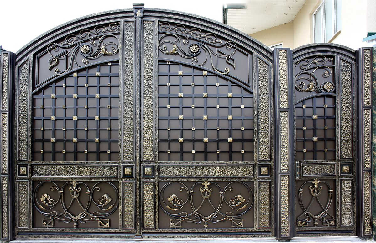 04.jpg (1200×775)   Iron gate design, Front gate design