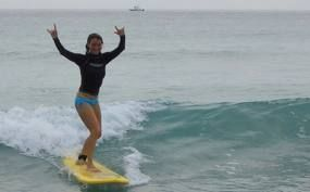 Follow Me On Fb Me Qrufnx Surf Lesson Learn To Surf Surfing