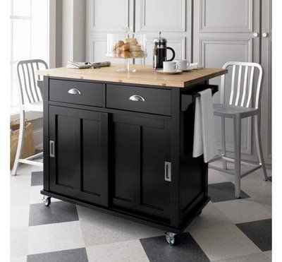 Superbe Attractive Rolling Kitchen Island With The Pulls I Think Will Work Best