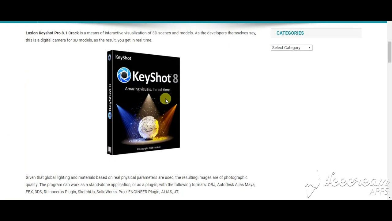 Luxion KeyShot Pro 8 2 80 Full Crack With Keygen 2019