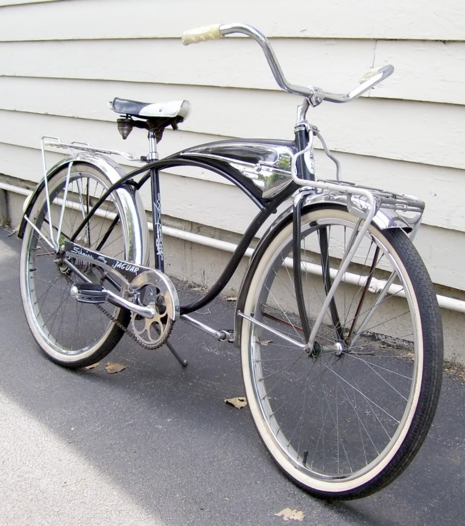 4f6792a657c 1962 Schwinn Jaguar Mark IV 2 | Bicycles | Cruiser bicycle, Cycling ...