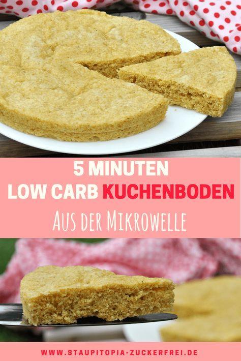 So machst du einen Low Carb Kuchenboden in 5 Minuten   Staupitopia Zuckerfrei   Rezept ...