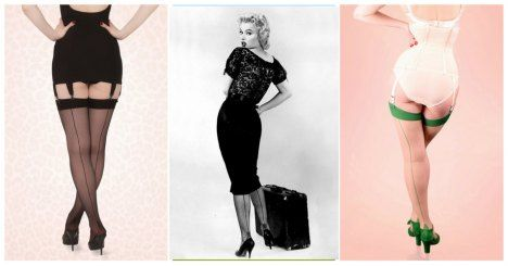 What Katie Did 40s Retro Seamed Stockings in Green Glamour >>> http://pinup-fashion.de/2d5fwrm