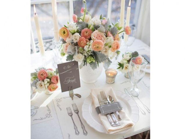 couleur gris et rose pastel id es mariage pinterest tables bouquets et pastel. Black Bedroom Furniture Sets. Home Design Ideas
