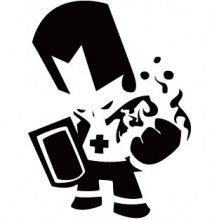 Castle Crashers Knights Pose Vinyl Decal Castle Crashers Vinyl Decals Knight