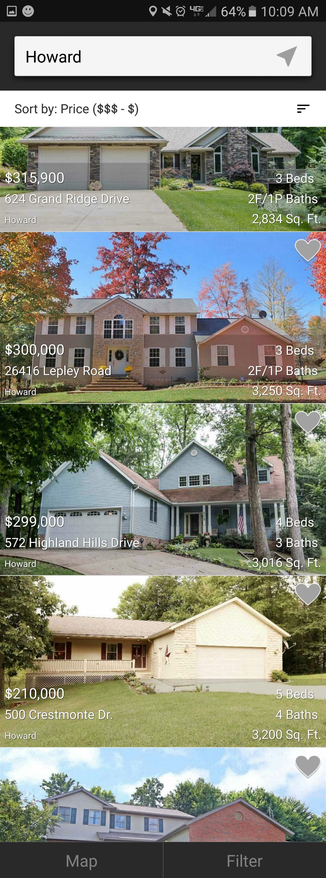 In a clean and easytoready list view all of howard ohio