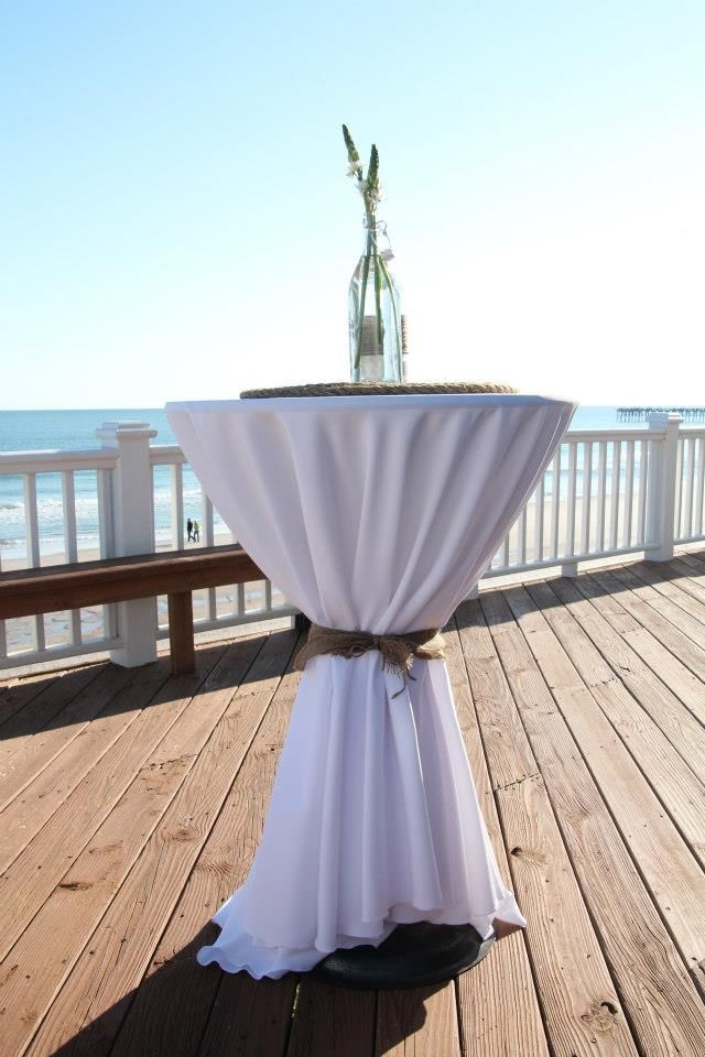 Cocktail Table Decorations Ideas centerpiece (beach wedding, cocktail table decoration) | my