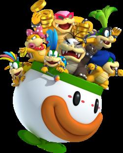 Koopa Clown Car - Super Mario Wiki, the Mario encyclopedia